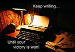 Write to see victory